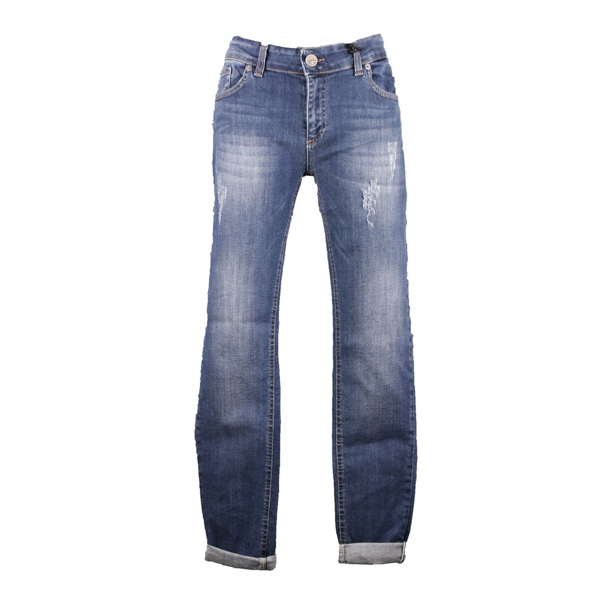 "Jeans ALMANEGRA ""Used Look"" Denim"